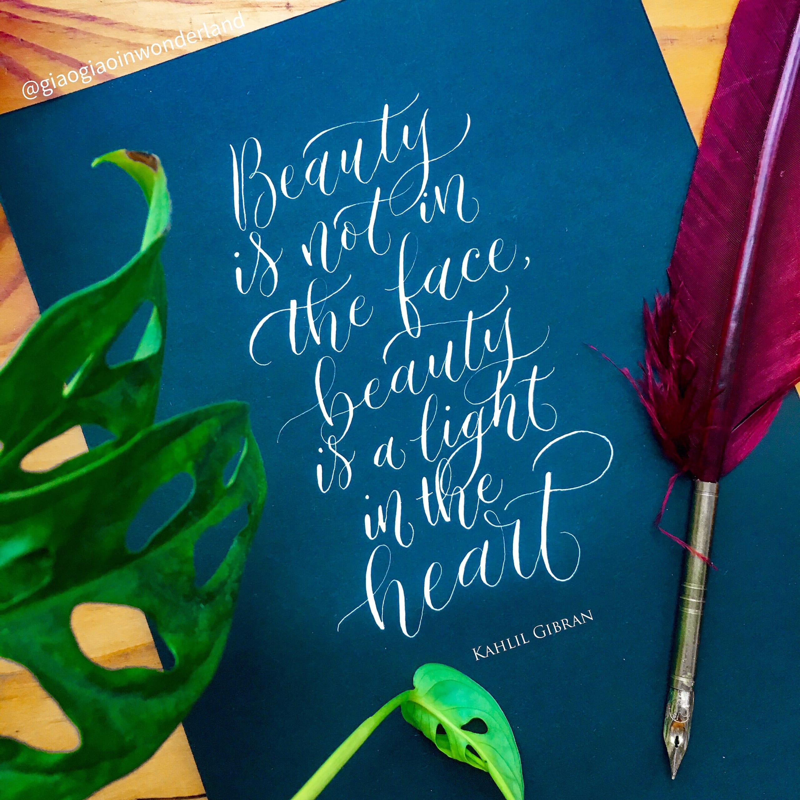 Calligraphy Beauty